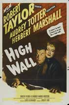 High Wall - 27 x 40 Movie Poster - Style A