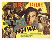 High Wall - 11 x 14 Movie Poster - Style A