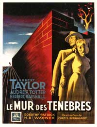 High Wall - 11 x 17 Movie Poster - French Style A