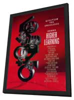Higher Learning - 11 x 17 Movie Poster - Style A - in Deluxe Wood Frame