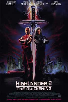 Highlander 2: The Quickening - 11 x 17 Movie Poster - Style A