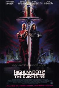 Highlander 2: The Quickening - 43 x 62 Movie Poster - Bus Shelter Style A