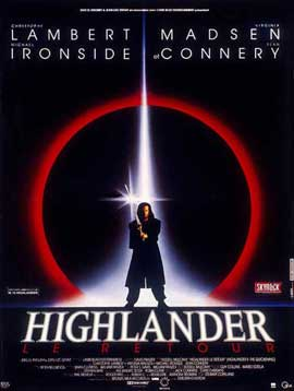 Highlander 2: The Quickening - 11 x 17 Movie Poster - French Style A