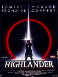 Highlander 2: The Quickening - 27 x 40 Movie Poster - French Style A