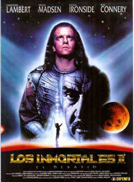Highlander 2: The Quickening - 11 x 17 Movie Poster - Spanish Style B