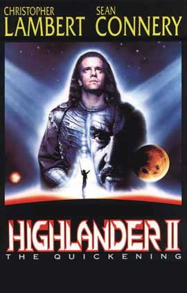 Highlander 2: The Quickening - 11 x 17 Movie Poster - Style B