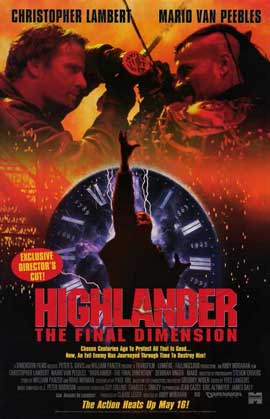 Highlander 3: The Final Dimension - 11 x 17 Movie Poster - Style B