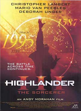 Highlander 3: The Final Dimension - 11 x 17 Movie Poster - Style C