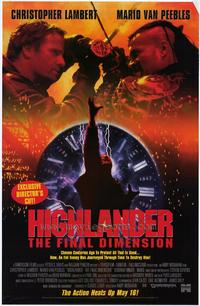 Highlander 3: The Final Dimension - 27 x 40 Movie Poster - Style B