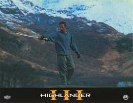 Highlander 3: The Final Dimension - 11 x 14 Poster French Style J