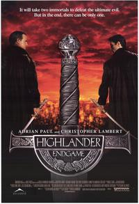 Highlander: Endgame - 43 x 62 Movie Poster - Bus Shelter Style A