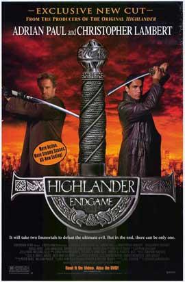 Highlander: Endgame - 27 x 40 Movie Poster - Style B