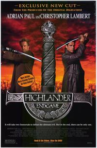 Highlander: Endgame - 43 x 62 Movie Poster - Bus Shelter Style B