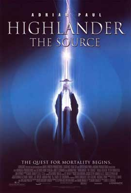Highlander: The Source - 11 x 17 Movie Poster - Style A