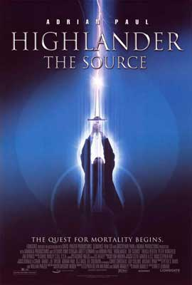 Highlander: The Source - 27 x 40 Movie Poster - Style A