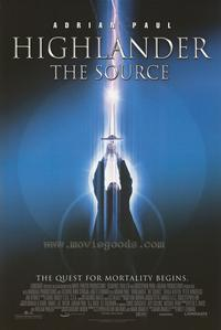 Highlander: The Source - 43 x 62 Movie Poster - Bus Shelter Style A