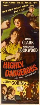 Highly Dangerous - 14 x 36 Movie Poster - Insert Style A