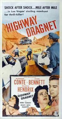 Highway Dragnet - 14 x 36 Movie Poster - Insert Style A