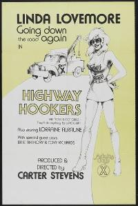 Highway Hookers - 11 x 17 Movie Poster - Style A