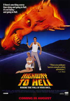 Highway to Hell - 11 x 17 Movie Poster - Style A