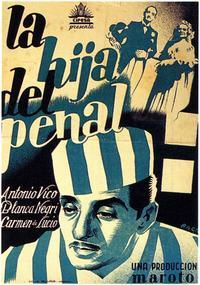 Hija del Penal, La - 27 x 40 Movie Poster - Spanish Style A