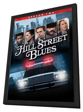 Hill Street Blues (TV) - 11 x 17 TV Poster - Style A - in Deluxe Wood Frame
