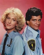 Hill Street Blues (TV) - Members of Hill Street Blues Back to Back Pose in Police Attire