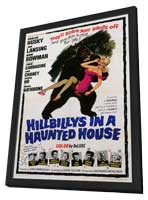 Hillbillys in a Haunted House - 11 x 17 Movie Poster - Style A - in Deluxe Wood Frame