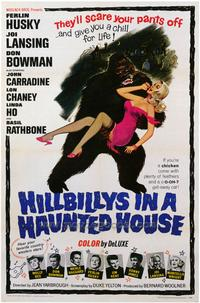 Hillbillys in a Haunted House - 43 x 62 Movie Poster - Bus Shelter Style A