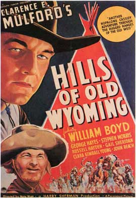 Hills of Old Wyoming - 11 x 17 Movie Poster - Style A