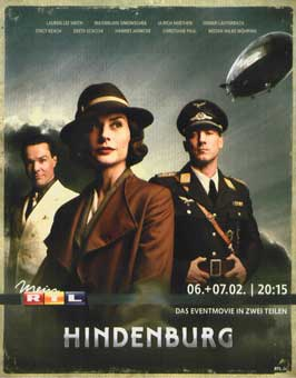 Hindenburg - 11 x 17 TV Poster - German Style D
