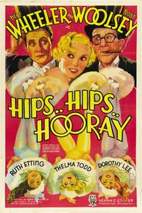 Hips, Hips, Hooray - 43 x 62 Movie Poster - Bus Shelter Style A