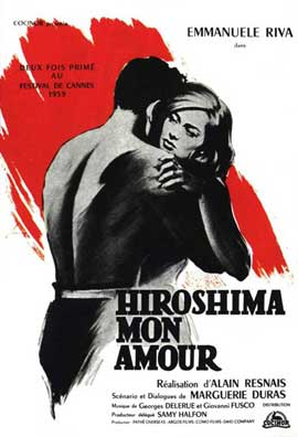 Hiroshima, Mon Amour - 11 x 17 Movie Poster - French Style A
