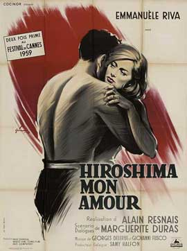 Hiroshima, Mon Amour - 11 x 17 Movie Poster - French Style B