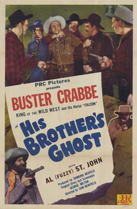His Brother's Ghost - 11 x 17 Movie Poster - Style A