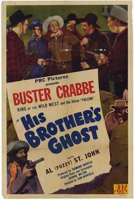 His Brother's Ghost - 27 x 40 Movie Poster - Style A