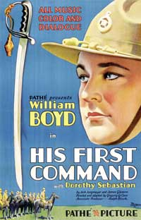 His First Command - 11 x 17 Movie Poster - Style B