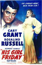 His Girl Friday - 11 x 17 Movie Poster - Style A