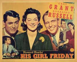 His Girl Friday - 11 x 14 Movie Poster - Style B