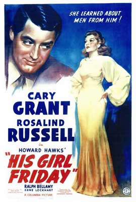 His Girl Friday - 27 x 40 Movie Poster - Style A