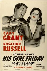 His Girl Friday - 27 x 40 Movie Poster - Style C
