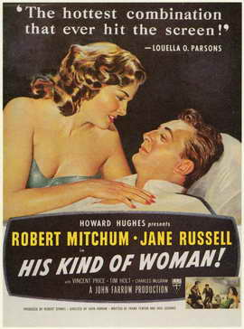 His Kind of Woman - 11 x 17 Movie Poster - Style A