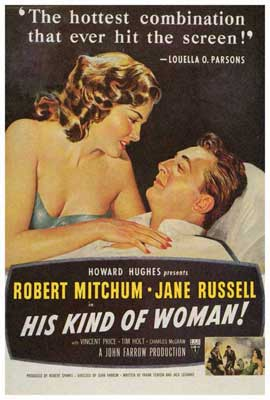 His Kind of Woman - 27 x 40 Movie Poster - Style A