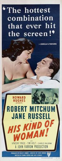 His Kind of Woman - 14 x 36 Movie Poster - Insert Style A
