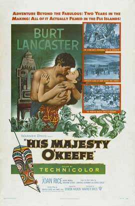 His Majesty OKeefe - 11 x 17 Movie Poster - Style A