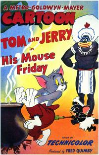 His Mouse Friday - 11 x 17 Movie Poster - Style A