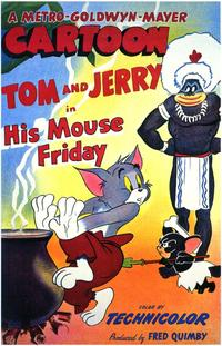 His Mouse Friday - 43 x 62 Movie Poster - Bus Shelter Style A