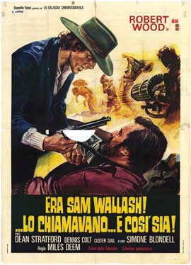 His Name Was Sam Walbash - 11 x 17 Movie Poster - Italian Style A