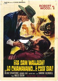 His Name Was Sam Walbash - 27 x 40 Movie Poster - Italian Style A