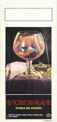 Histoire du Plaisir - 13 x 28 Movie Poster - Italian Style A